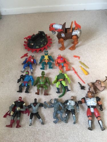 Vintage 80's toy figures he-man #teenage mutant #ninja #turtles thundercat,  View more on the LINK: 	http://www.zeppy.io/product/gb/2/112265454586/