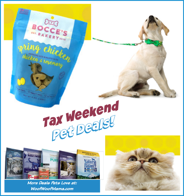 Tax Weekend Pet Deals from PetSmart, Petco, BarkBox + More