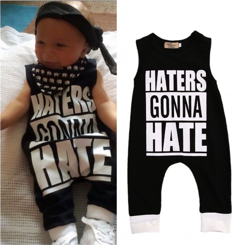 bfb10cf8b0b 0-4Y Toddler Kids Baby Boys Girls Clothes Sleeveless Cotton Romper Jumpsuit  Outfits Clothes