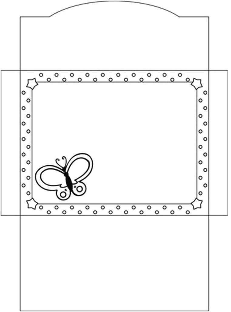 Открытки пожеланием, шаблон конверт для открытки распечатать