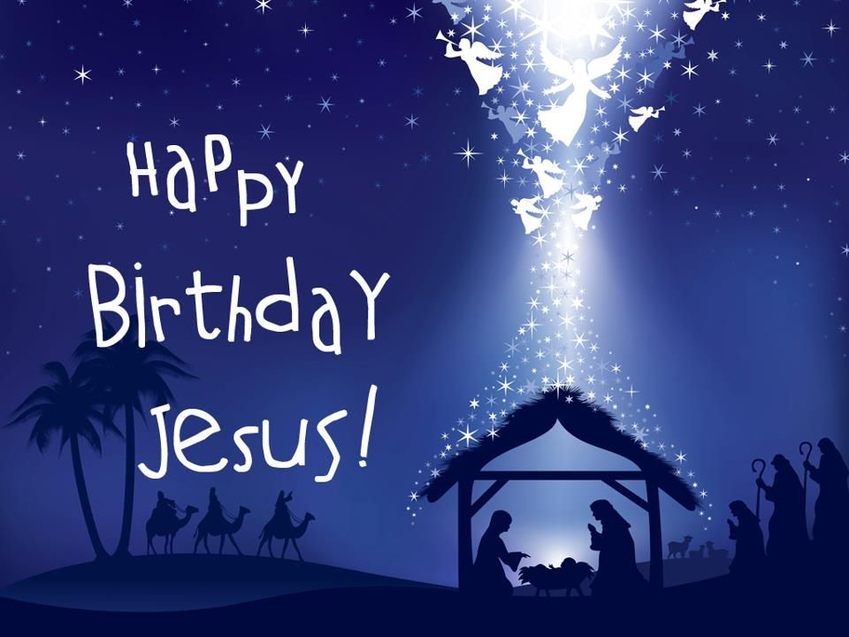 How do you celebrate his birthday? For His honor? Or your glory? Don ...