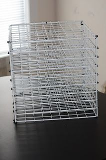 Tuesday Tips Wire Rack Paper Organizer Hack | Wire racks ...