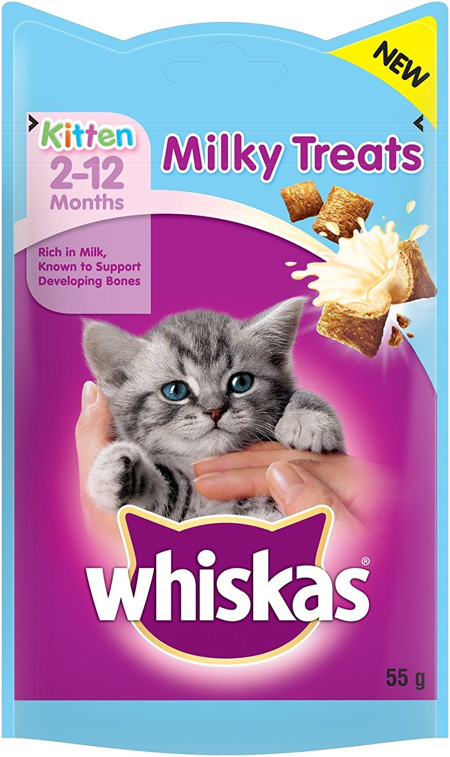 Whiskas Kitten Milky Treats 55g Pack Of 8 Want To Know More