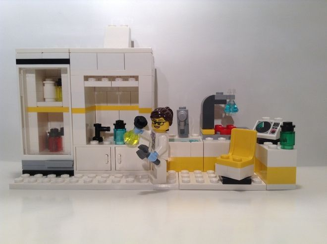 In The Chemistry Lab Safety And Fun Come First And That Is Why This Lab  Features A Chemical Cabinet With Moveable Door, A Fume Hood With Vacuum  Nozzle, ...