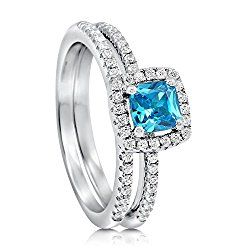 Irish Sterling Silver 925 Claddagh Ring with Topaz December Month Birthstone Cubic Zirconia Stone. zs4uGTd