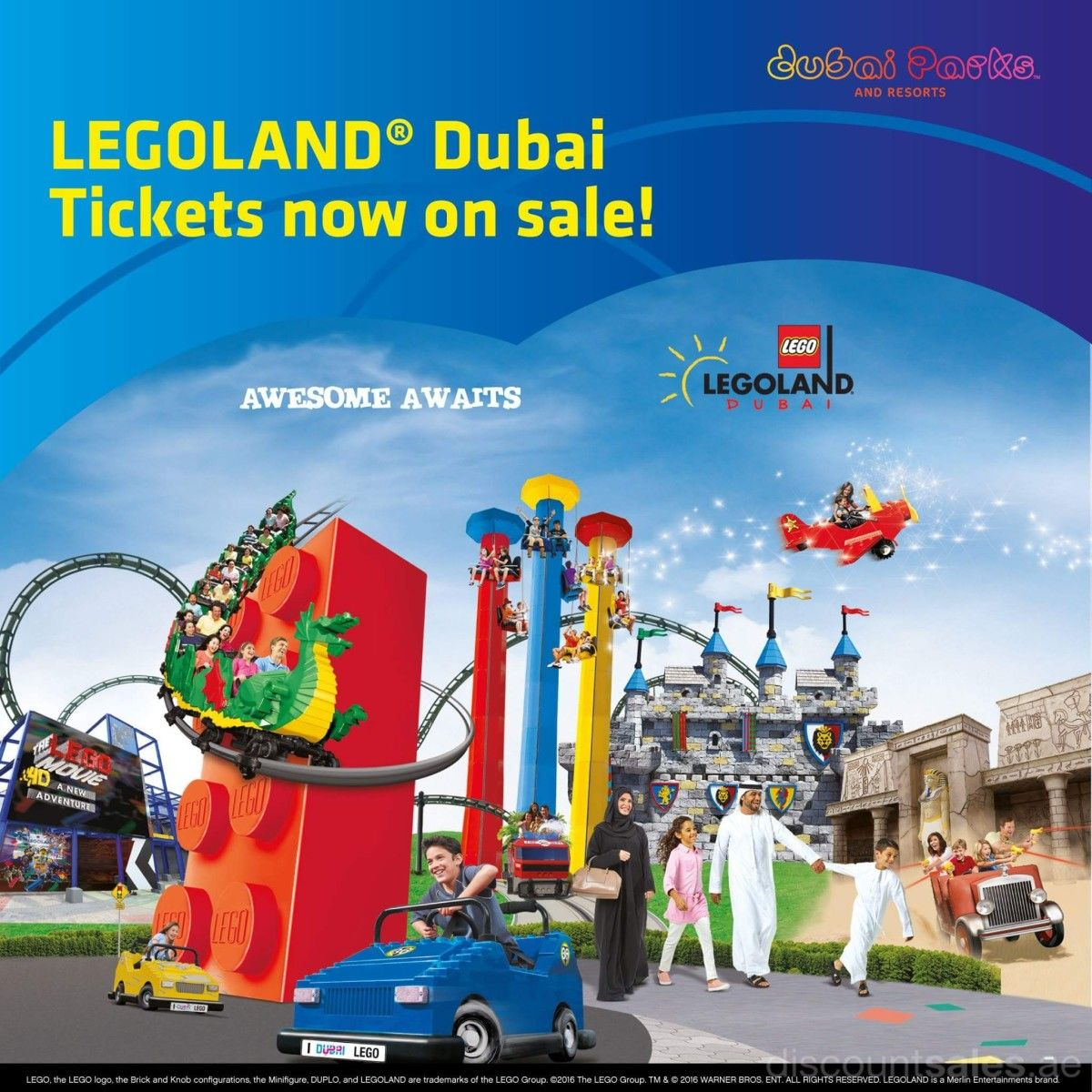 Legoland Dubai Tickets Now On Sale Dubai Tickets Legoland Dubai