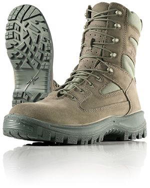 Wellco Mens Sage Signature Temperate Weather Combat Boots # S150