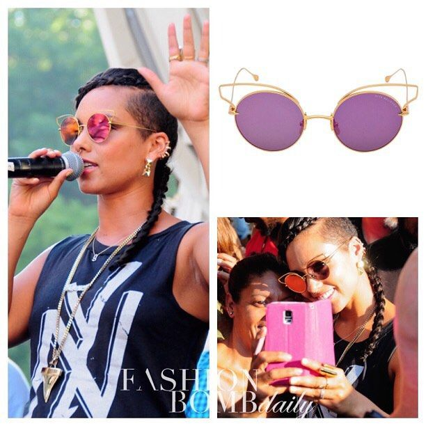 0ee14216dbe  aliciakeys spoke at Harlem Week s Summer in the City event in  475  ditaeyewear  Believer