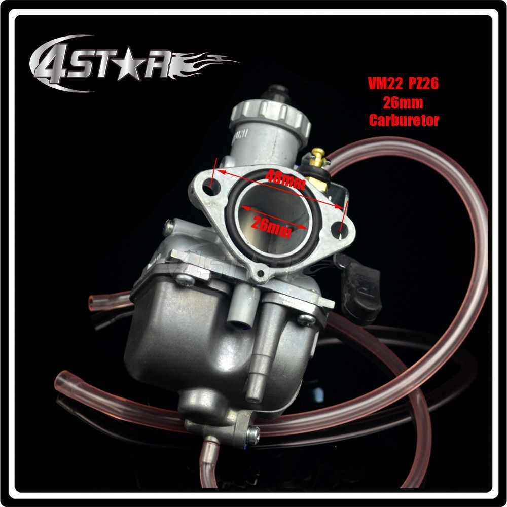 Mikuni High Performance Vm22 Pz26 26mm Carburetor Carb For Motorcycle Dirt Pit Bike Atv Quad 110cc 125cc140cc Motocross High Quality Atv,rv,boat & Other Vehicle