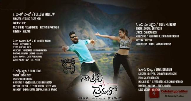 Jr. NTR Nannaku Prematho movie audio launch highlights | Songs, Movie songs,  Audio songs