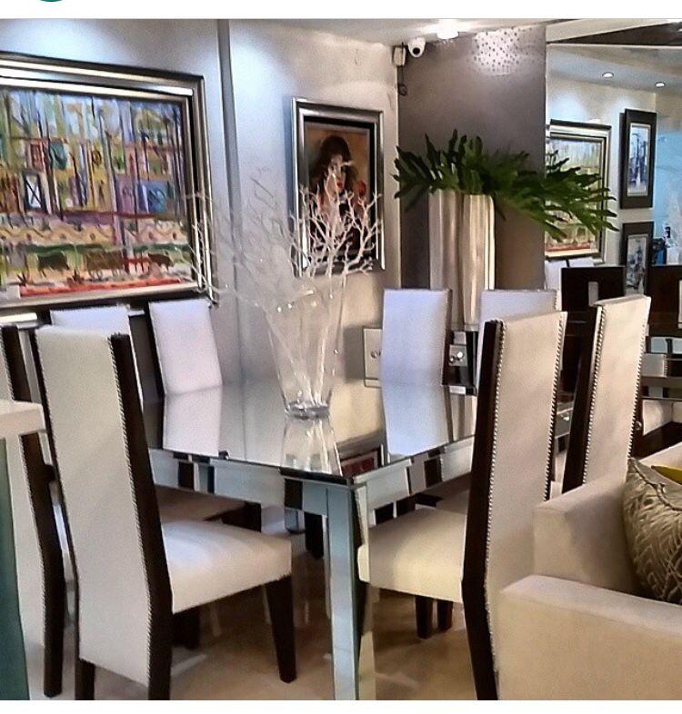 Comedor moderno de 8 sillas Comedores Pinterest Comedores
