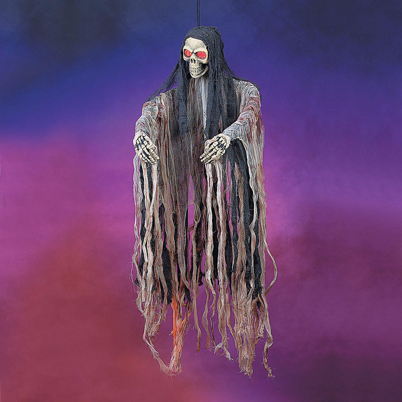 Hanging Skeleton With LED Lights
