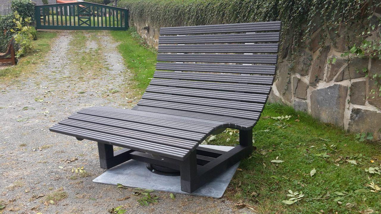 Waldsofa Tischlerei Belke Doppelliege Drehbar Doppelliege Gartenliege Holz Doppelliege Garten