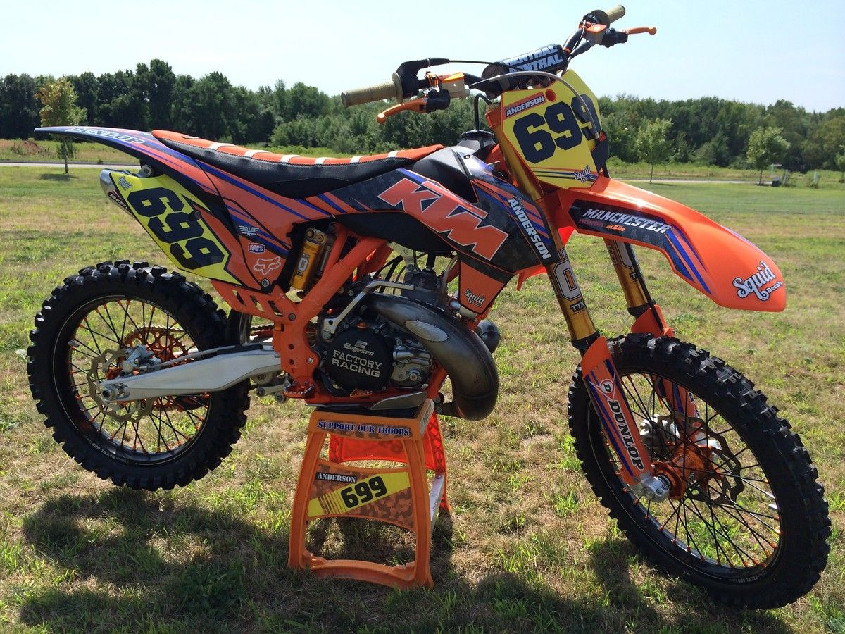 Lets See The Ktm 2 Strokes Ktm Motocross Dirtbikes