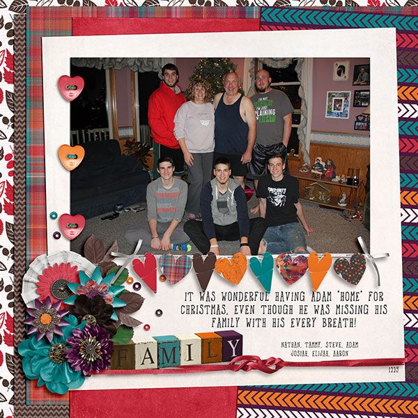 A Family Affair by Across the Pond Designs by Seatrout Scraps and Mandy King Digital Scrapbook Kit #digiscrap #digitalscrapbooking #memorykeeping #mandyking
