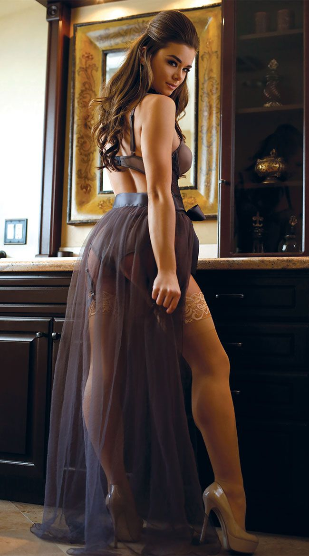 259db5edec52e Sabrina Tulle Maxi Skirt