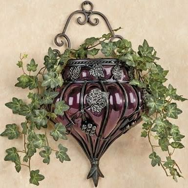 Wrought iron floral wall decor google search