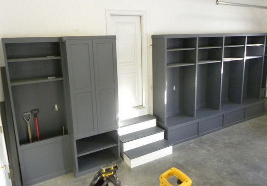 19 Garage Organization And Diy Storage Ideas Hints And Tips Locker Storage Diy Garage Storage Garage Decor