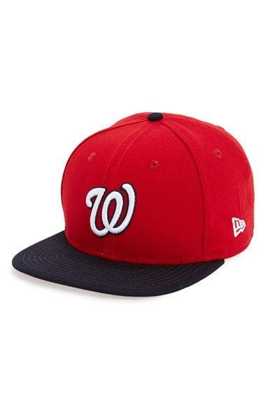 purchase cheap c4fb5 7dede New Era Cap  Shore Snapper - Washington Nationals  Snapback Baseball Cap