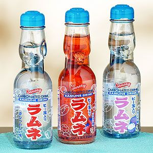 Japanese Ramune Soda This Soda Is Challenge To Open If