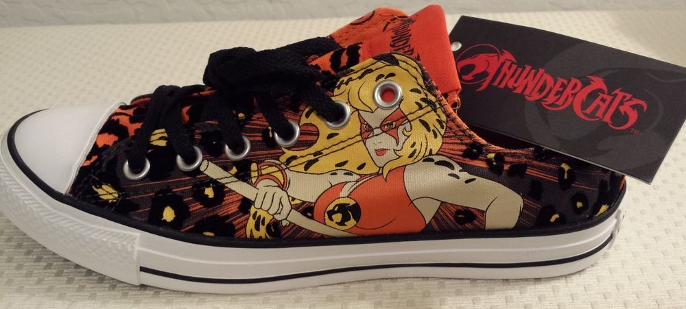Converse Thundercats Cheetara low top sneakers