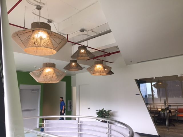 Koord Hanging Lamps In VMWare Offices In Costa Rica #project #lighting # Hanging #office #contract #private #light #ESPdesign #CostaRica #eltorrent  #koord ...