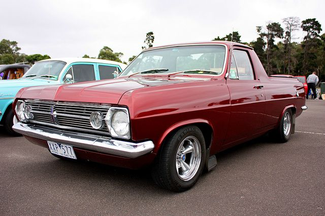 Holden Hr Ute Custom Muscle Cars Holden Muscle Cars Aussie