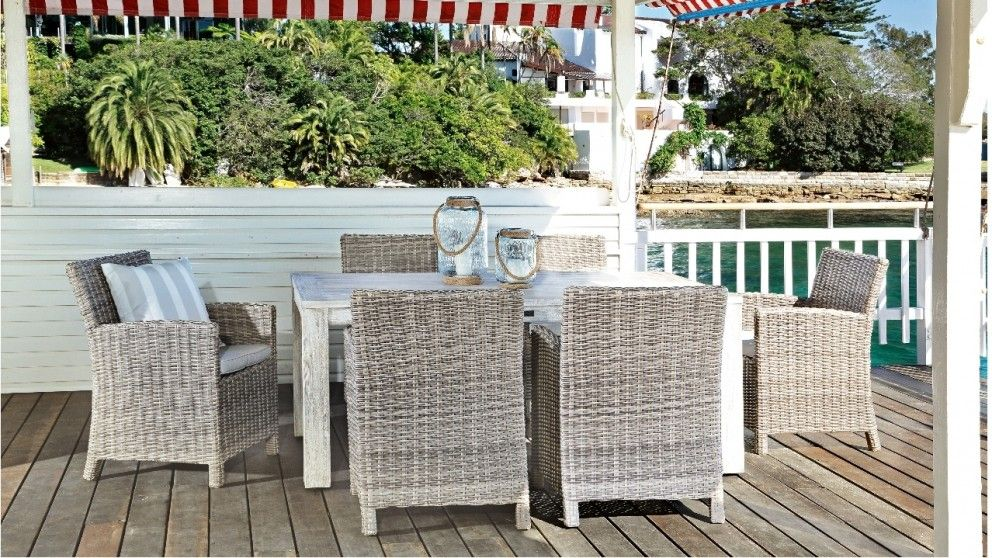 Capella 7 Piece Outdoor Dining Setting - Outdoor Dining - Outdoor ...