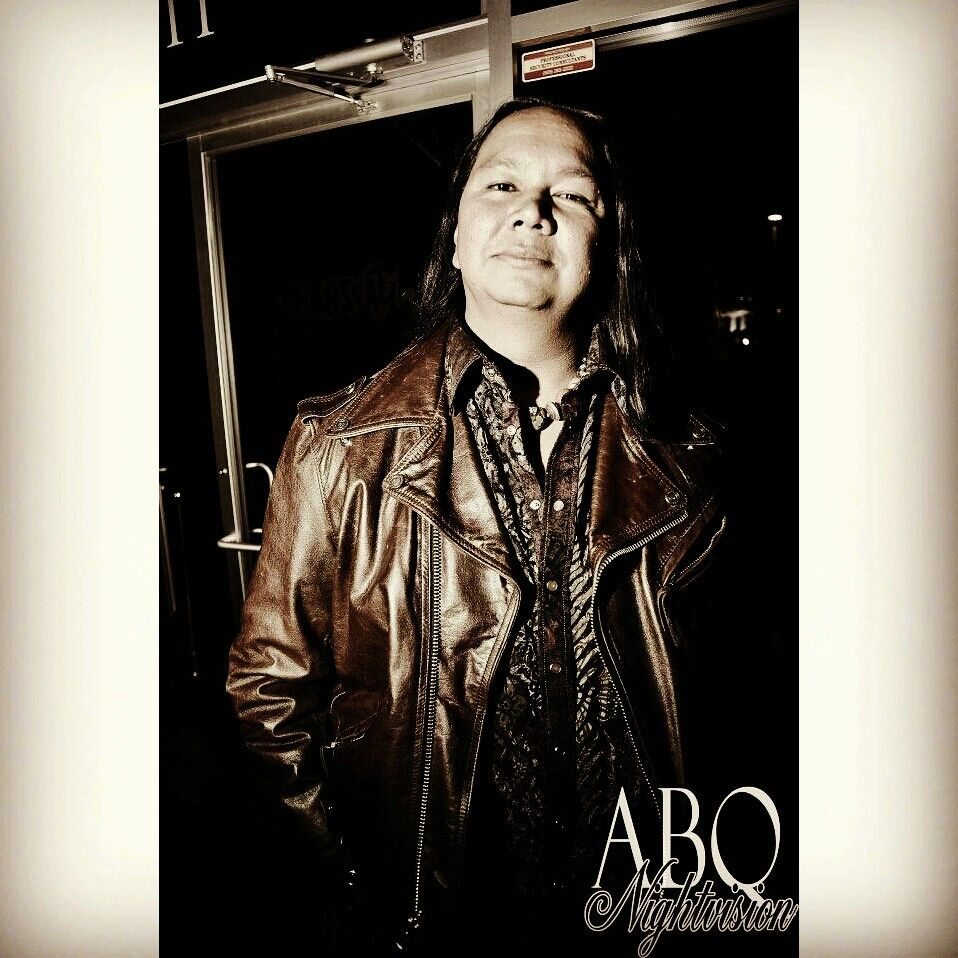 3am outside the infamous Jazzbah club. Leather Motorcycle Jacket: Harley-Davidson; Velvet Shirt: Georg Roth; Turquoise and Amber necklace  #fashion #mensfashion #bespoke #NativeAmerican #clublife