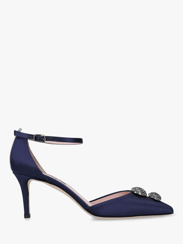 SJP by Sarah Jessica Parker Civil Satin Court Shoes, Blue