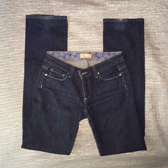 Paige Melrose Jeans Paige jeans in 'melrose' size 26 Paige Jeans Jeans Straight Leg