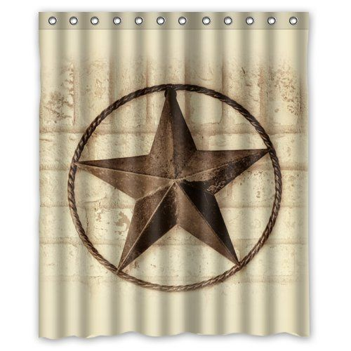 Creative Bath Western Texas Star Shower Curtains 60 X 7 Http