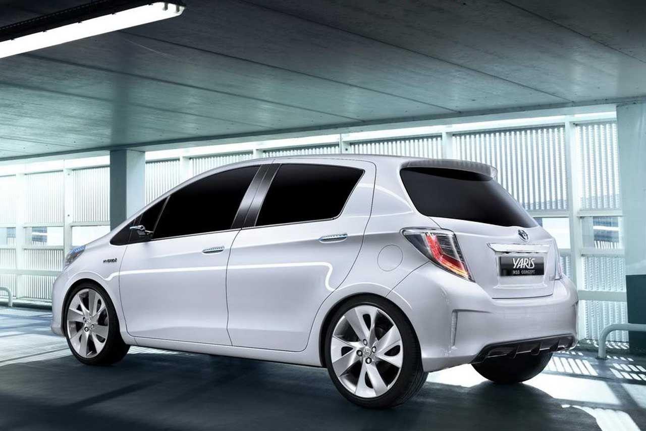 Yaris Hsd Concept Hybrid Car Toyota Concept Car Luxury Hybrid Cars