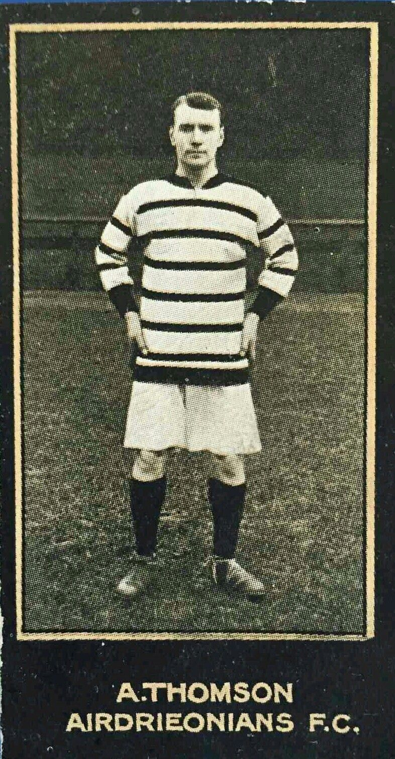Alex Thomson Of Airdrie In 1912 1900s Football Pinterest
