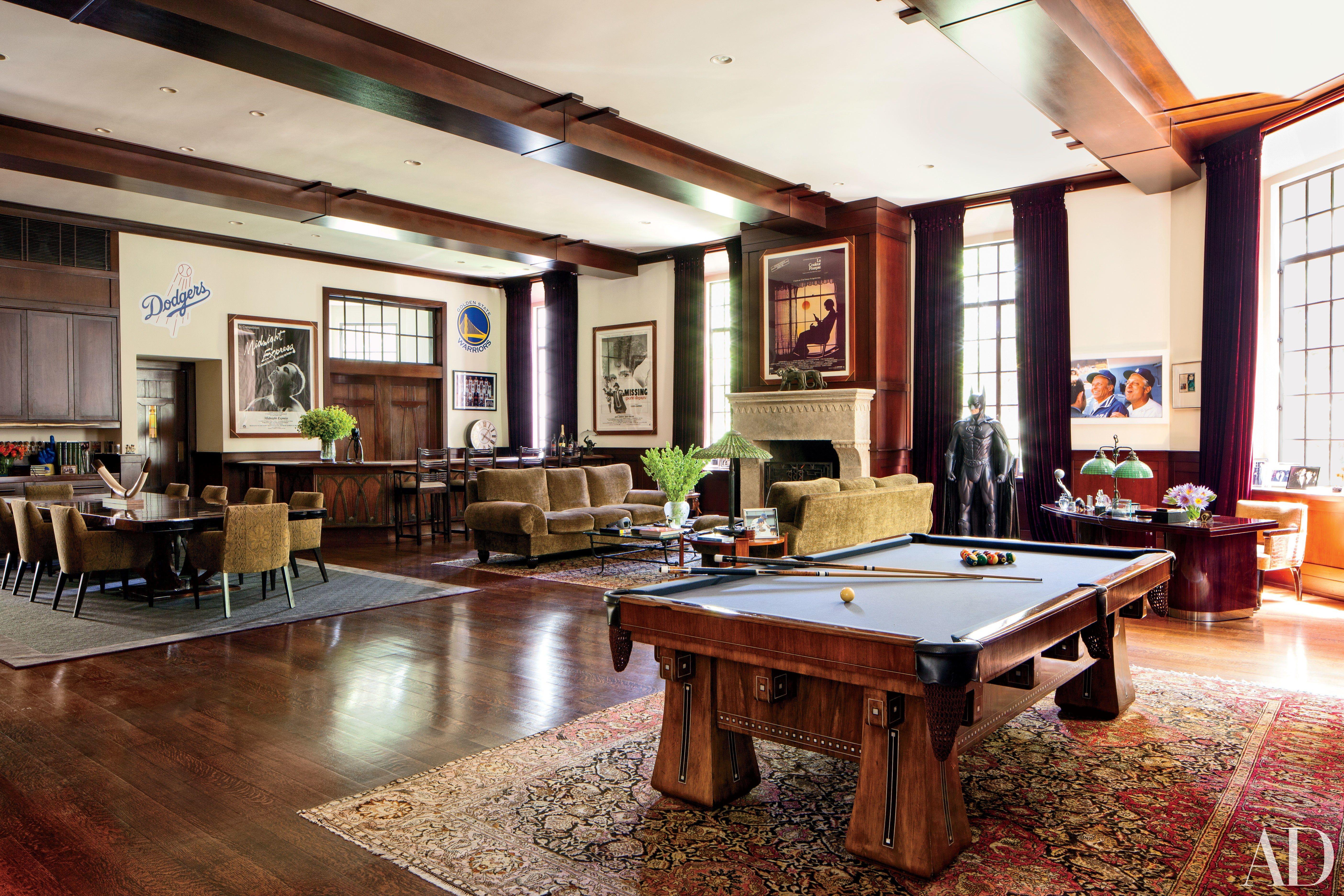 14 Beautiful Billiard Rooms Where You Can
