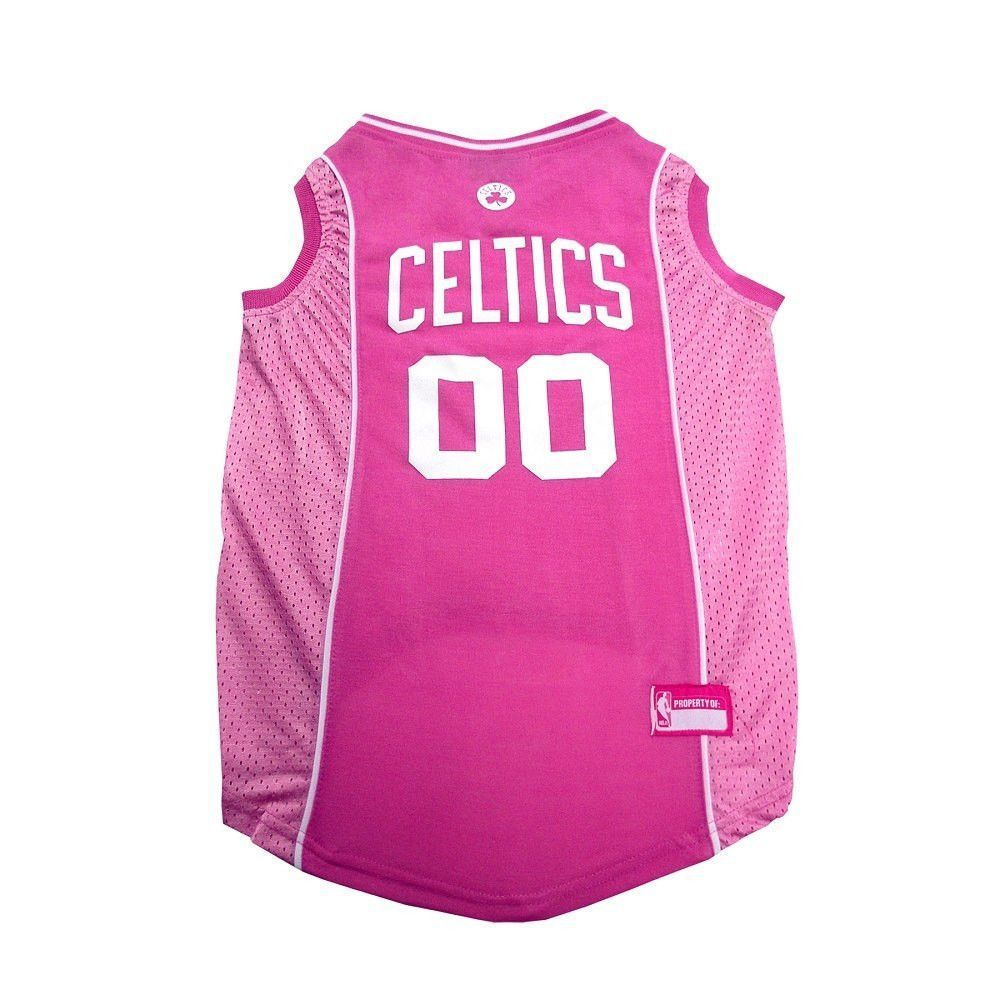 NBA Boston Celtics Pink Dog Jersey Free Shipping (With