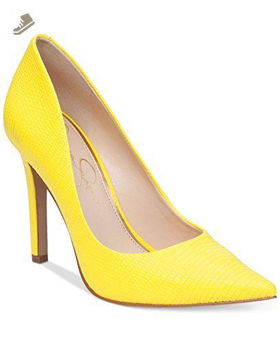 d5336df3a6e Jessica Simpson Cassani Sour Lemon Yellow (5.5) - Jessica simpson pumps for  women ( Amazon Partner-Link)
