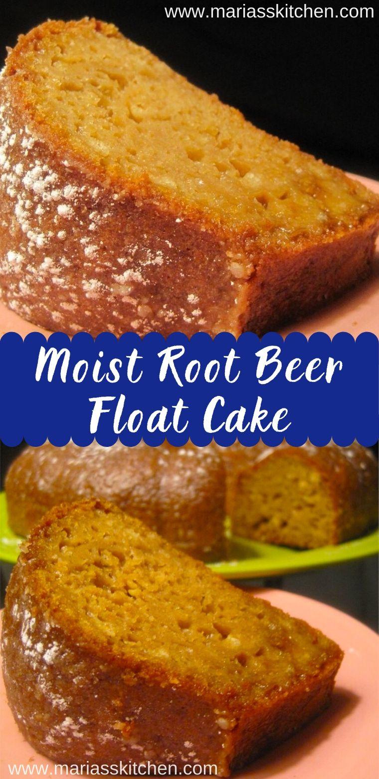 Moist Root Beer Float Cake - Maria's Kitchen
