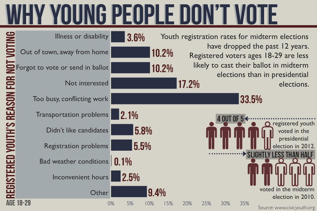 Don T Vote Infographic