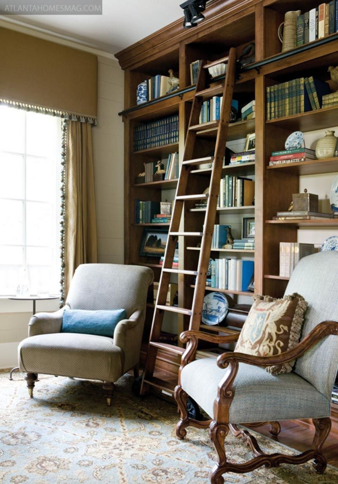 Design Small Home Library 11 Small Home Libraries Home Library Design Cozy Home Library