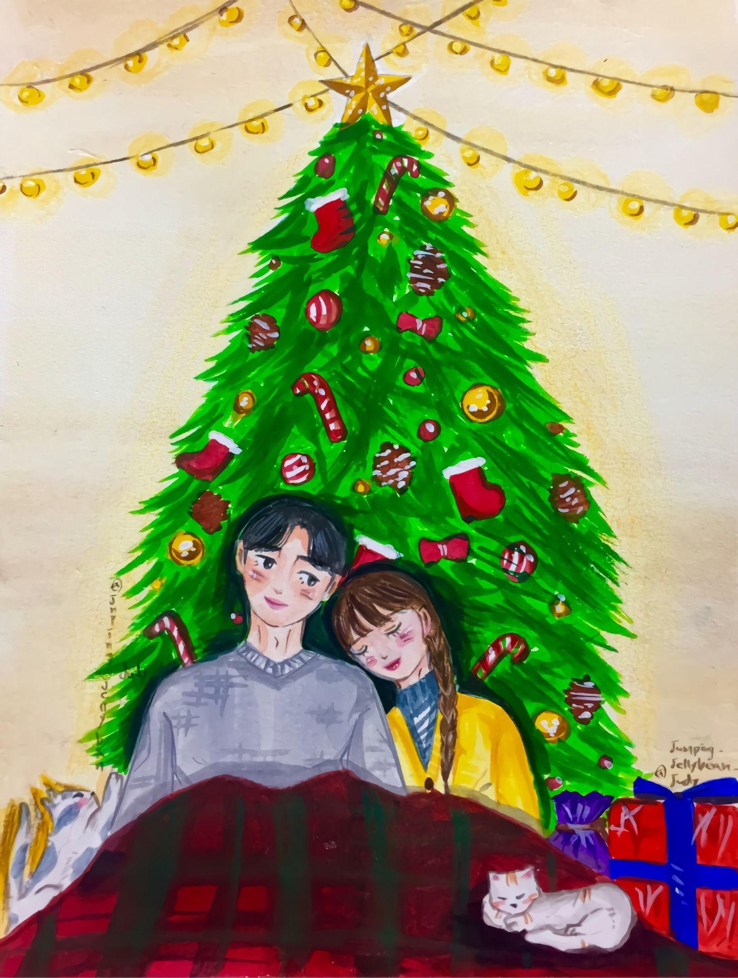 Merry Christmas 메리 크리스마스 크리스마스 사랑 크리스마스 메리 크리스마스