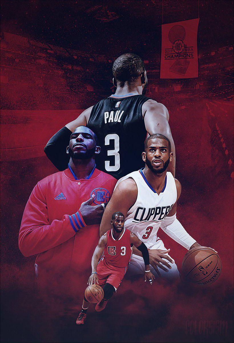 LA Clippers Chris Paul Basketball in 2020 La