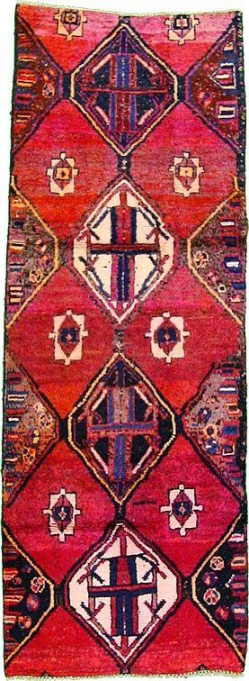 2' 11 x 8' 1 Red Shiraz Persian Rugs