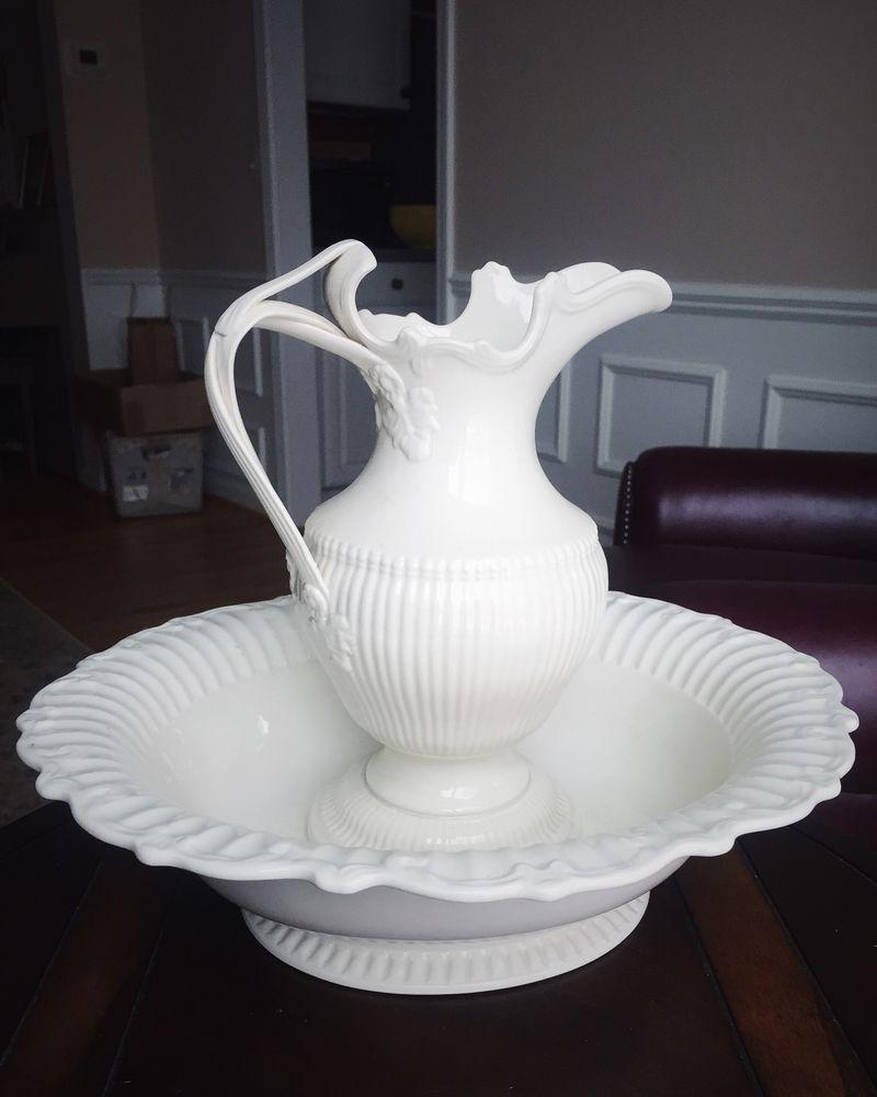 Antique Leedsware Classical Creamware