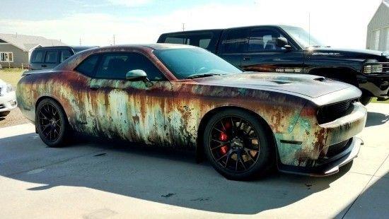 Car Wrapping - 50 Ideen und Vorteile des neuen Trends   - Amerikanische Muscle Cars -