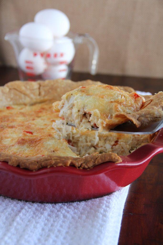 Crab and Shrimp Quiche