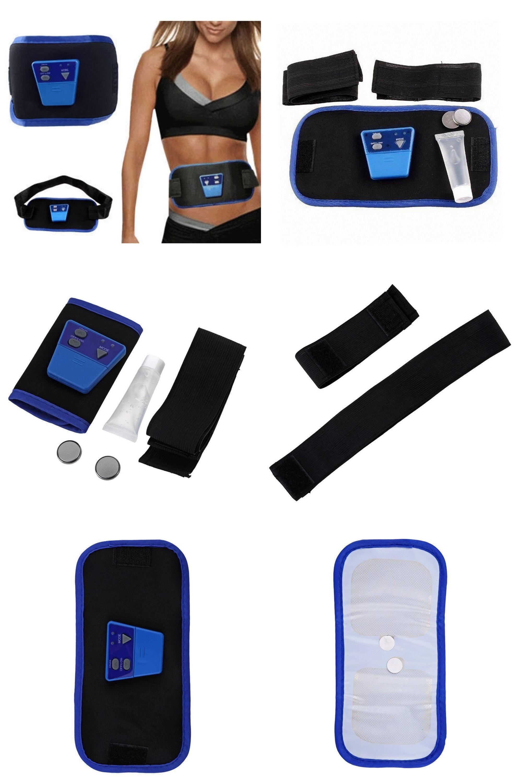 AB Gymnic Toning Toner Belt Arm leg Abdominal Waist Massage Fitness Exercise
