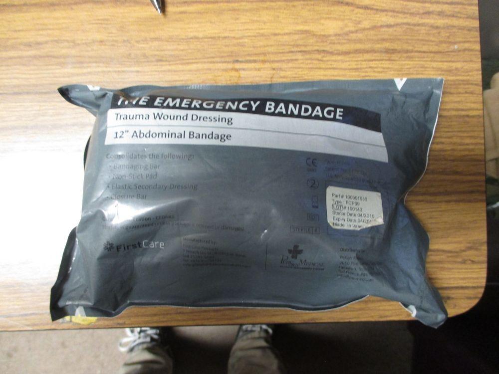 Military trauma emergency bandage dressing israeli ifak