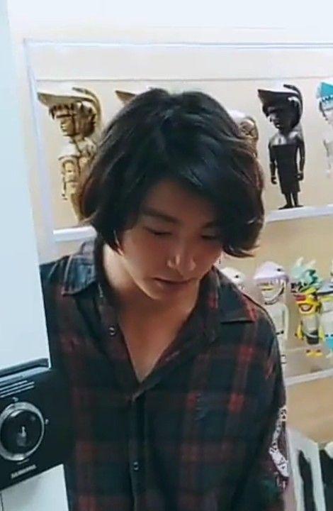 Jungkook long hair growth #jungkooklonghair