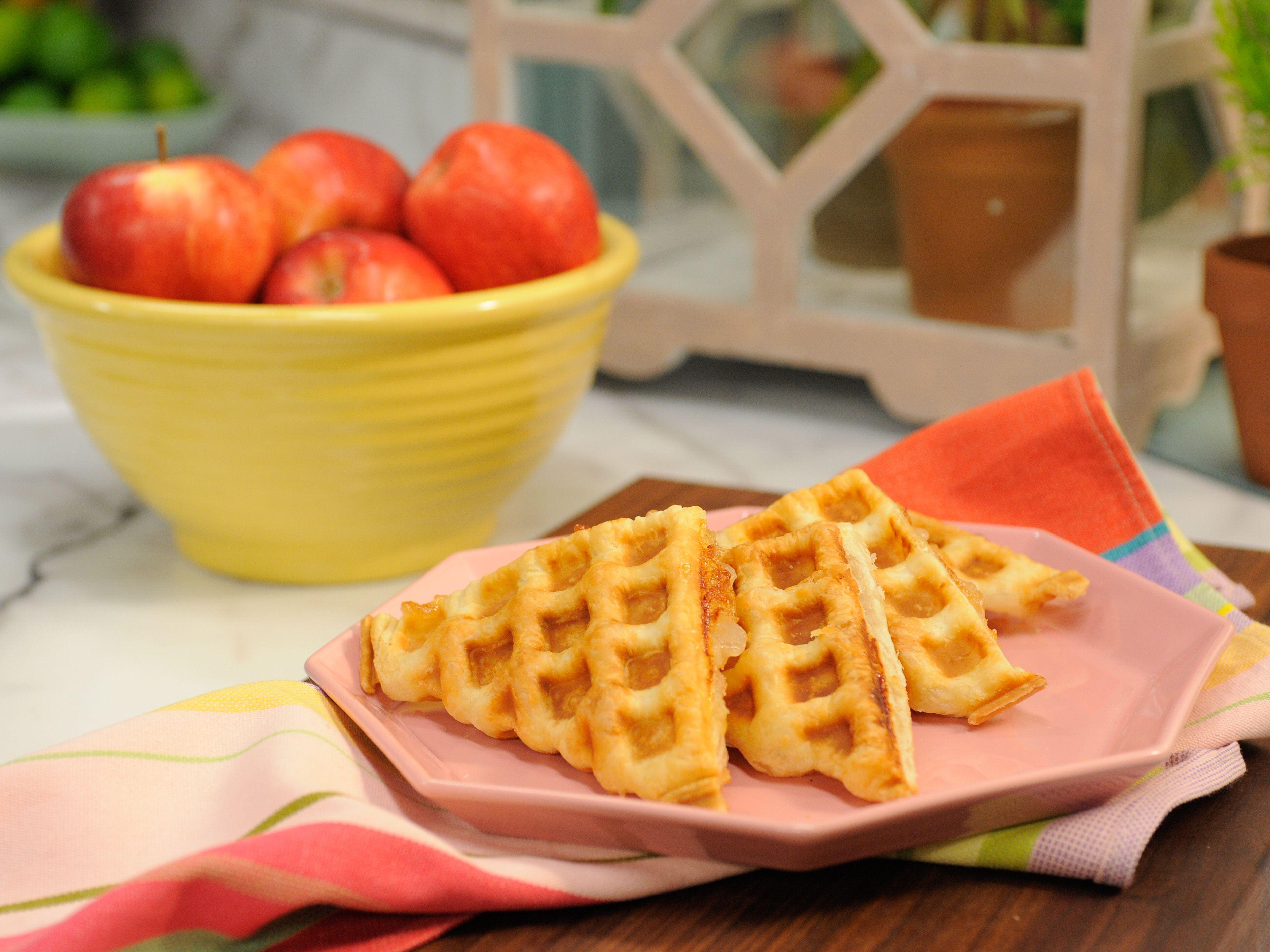 Waffled Turnover Recipe Breakfast Waffles Food Network Recipes